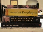 The COOKBOOKs used for Christmas Dinner
