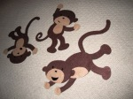 Finished monkey threesome.. so cute!