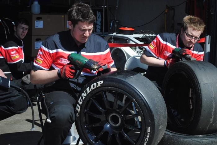 Shaving tires