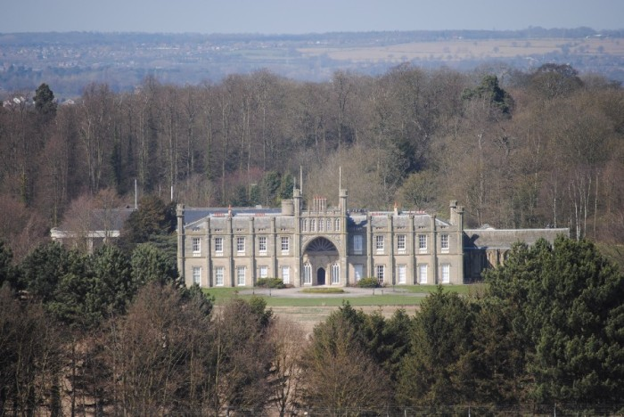 Donington Hall - can't visit it, but looks like a castle