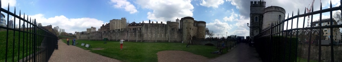 The Tower of London - A Panoramic View