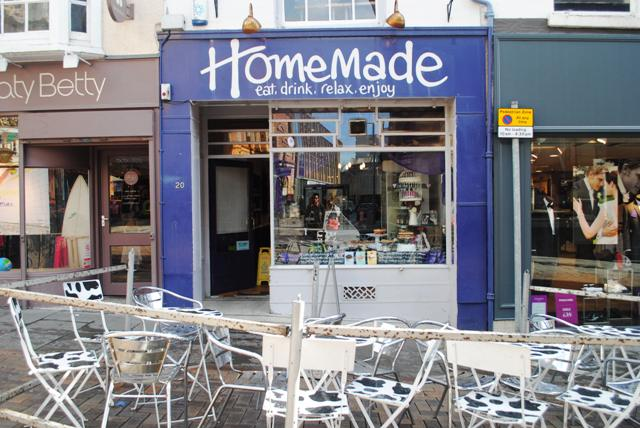 Homemade Cafe - voted Nottingham's best cheap eats (2012?)
