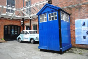 Police Shed (like Dr. Who!)