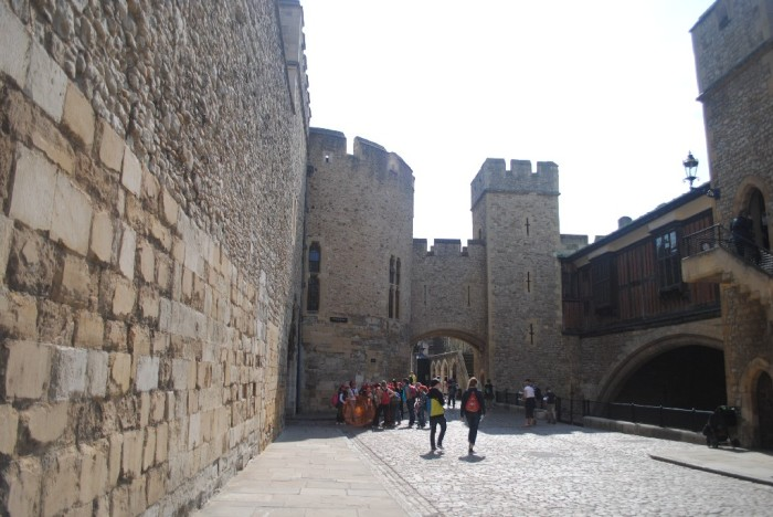 The Tower of London is actually comprised of several towers
