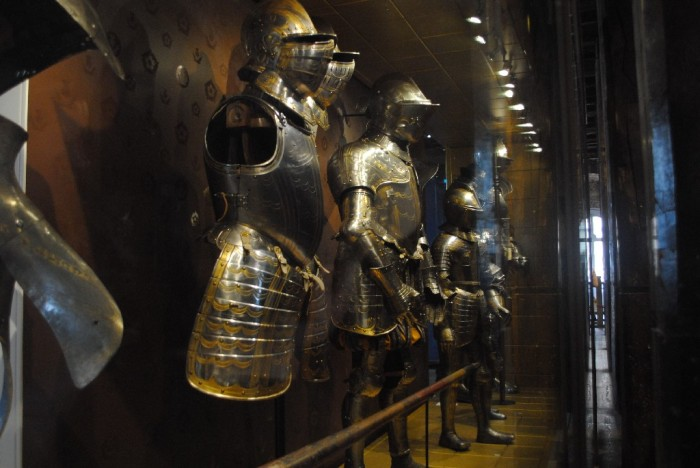 Medieval armor.. including parts of King Henry VIII's