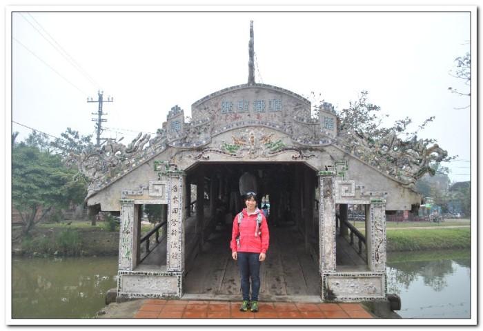Covered bridge near Hue