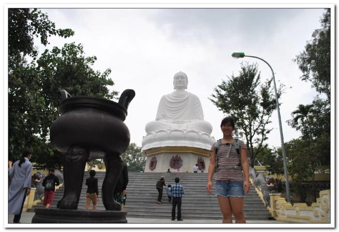40-foot tall Buddha