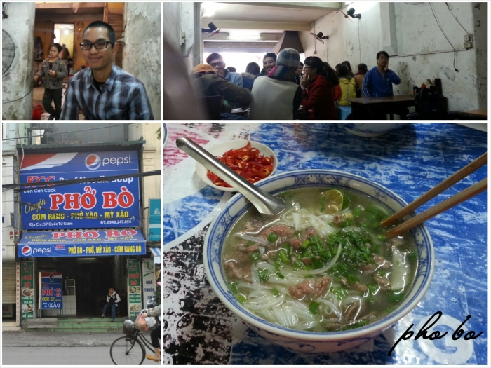 First Meal in Ha Noi - of course pho!