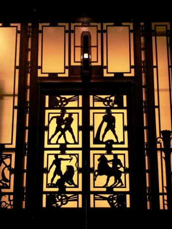 original elevator for Selfridges