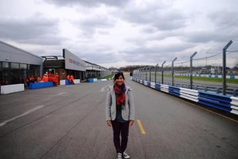 APRIL 2013 - In the pit at BTCC (Donington Race Track)