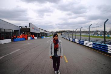 APRIL 2013 - In the pit at BTCC (Donington Race Track)