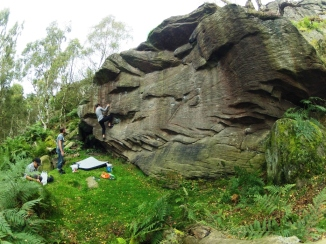 OCTOBER 2013 - Bouldering in the Peak District