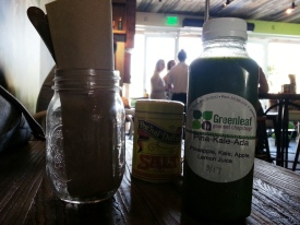Greenleaf Gourmet Chopshop - pina-kale-ada juice