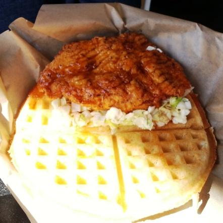 Bruxie - fried chicken