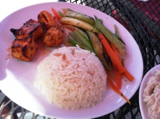 Istanbul Grill - chicken kabob