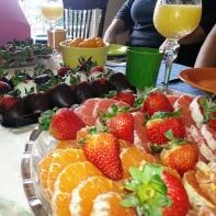 Book Club (Mary's) - cara cara orange, strawerries