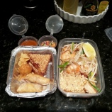 Thurday DINNER - Thai Takeout : Shrimp Pad Thai, Appetizers
