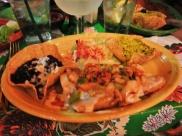 Casa de Bandini - seafood enchiladas