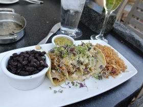 Stone Brewery World Bistro - street tacos