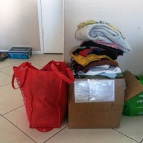 Clothes going to my BFF and to charity