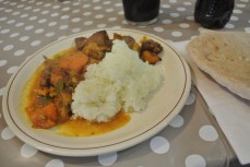 Friday Dinner - Chicken Curry and Rice