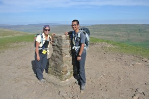 Top of Pen-y-Ghent
