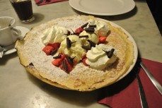 "Strawberry ""Summer"" pancake"