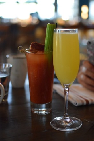 The Outpost at the Goodland Hotel - Bloody Mary and Mimosa