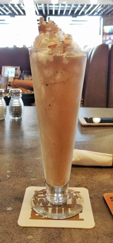 STACKED Huntington Beach - Mocha Almond Fudge Milkshake