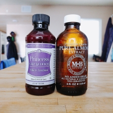 Princess Emulsion + Almond Extract = HEAVEN!